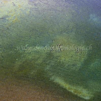 Prospection aérienne de la plateforme littorale