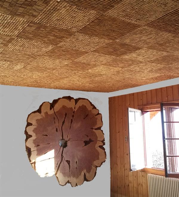 Chene liege plafond fl