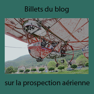 Prospection aerienne blog